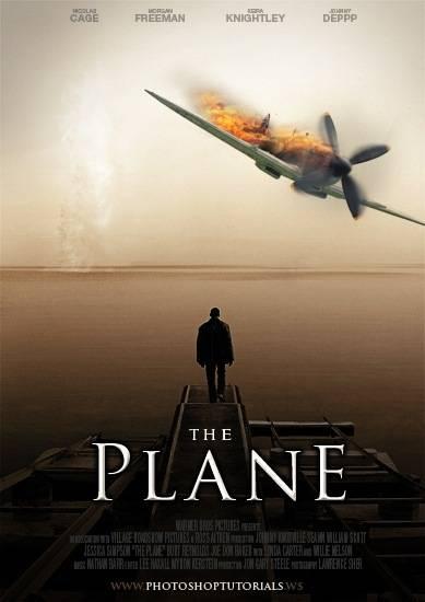 Affiche de film – The Plane