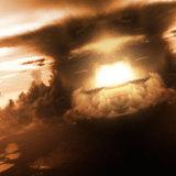 miniature Explosion atomique