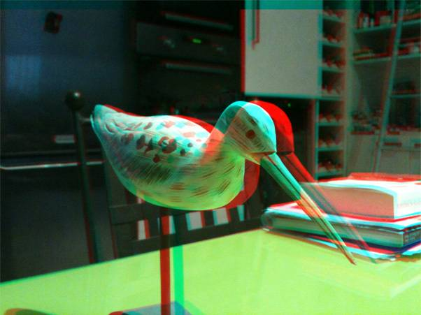 Transformer une photo en 3D anaglyphe