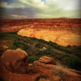 miniature Paysage de désert surréaliste