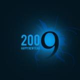 miniature Carte nouvelle année 2009