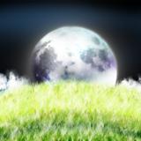 miniature Colline au clair de lune