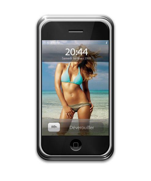 Créer un fond d'écran pour iPhone