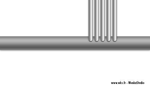 Créer un tuyau en métal