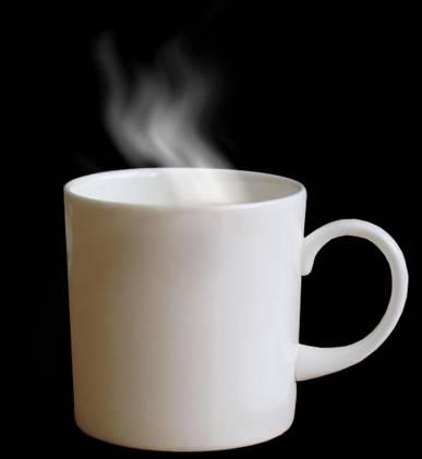 Fumée & tasse de café
