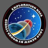 miniature Logo spatial de la NASA