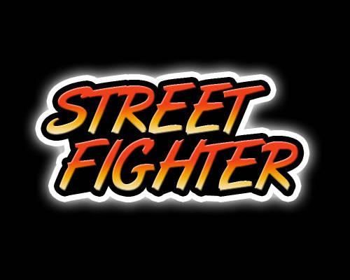 Logo Street Fighter
