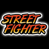 miniature Logo Street Fighter