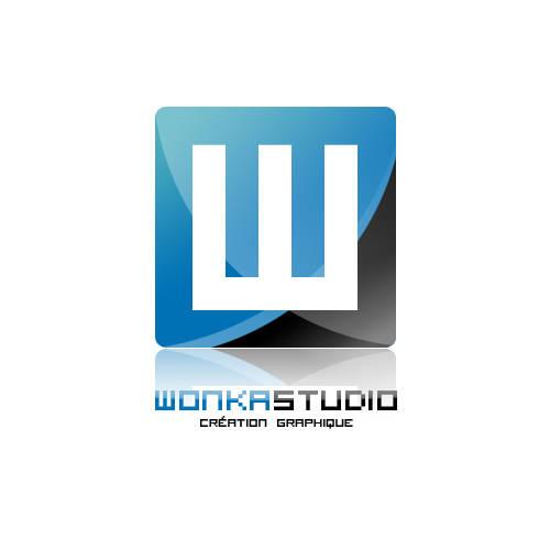 Logo carré glossy