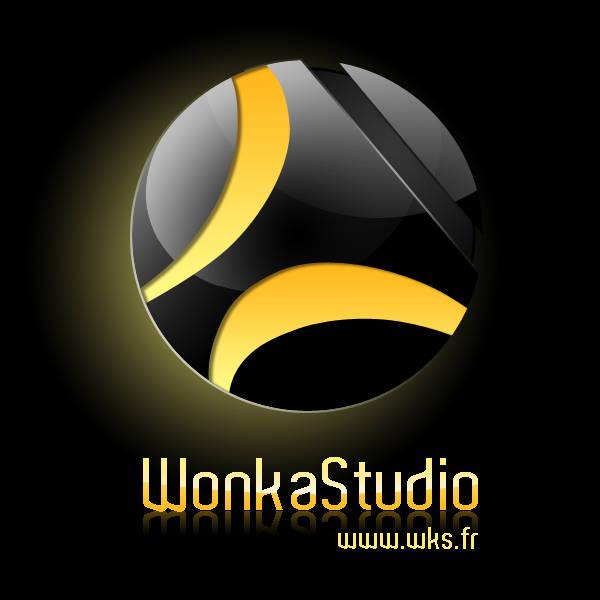 Logo dark glossy
