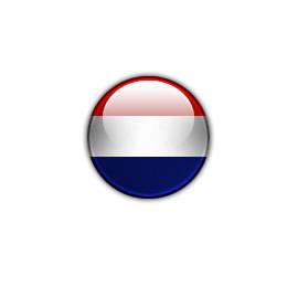 Icône drapeau rond