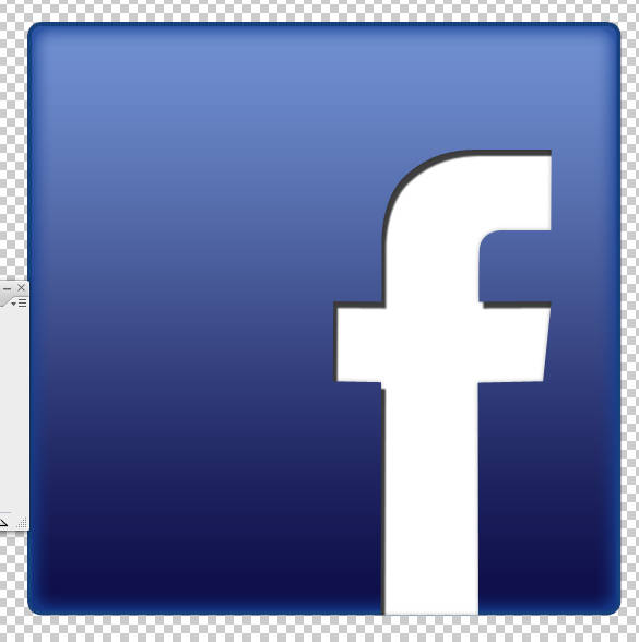 Créer un icône Facebook glossy