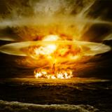 miniature Explosion nucléaire