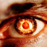 miniature Oeil en feu