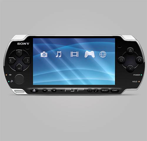 Dessiner une PSP (Sony)