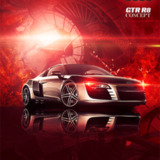 miniature Poster Audi R8 GTR concept