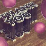 miniature Texte 3D en verre de plastique