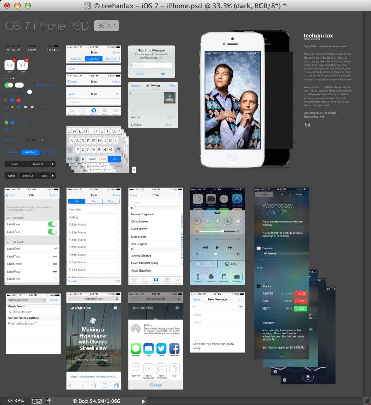 Interface iOS7