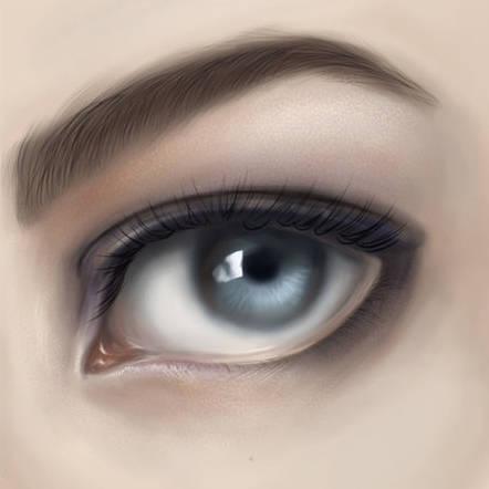 Peindre un œil