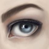 miniature Peindre un œil