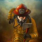 miniature Dessiner un pompier