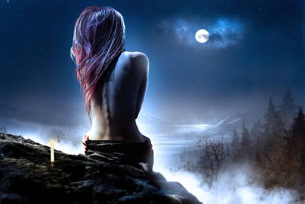 Solitaire au clair de lune