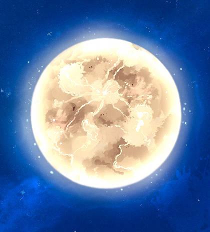 Dessiner la lune
