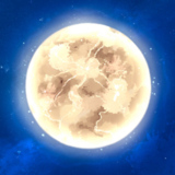 miniature Dessiner la lune