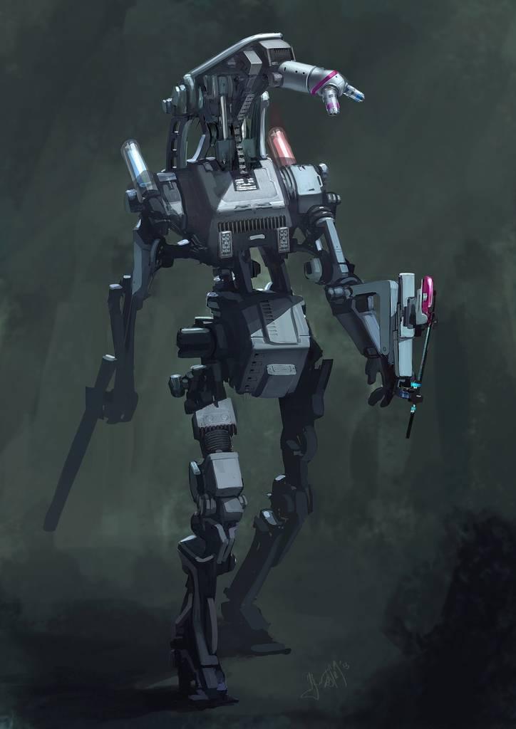 Dessiner un robot