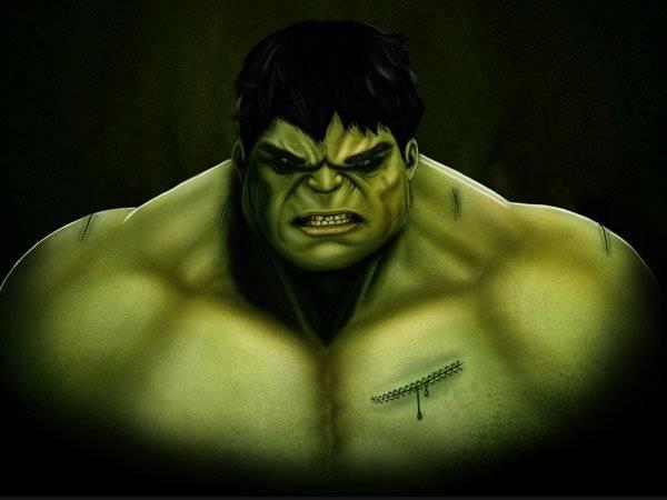 Dessiner l'Incroyable Hulk