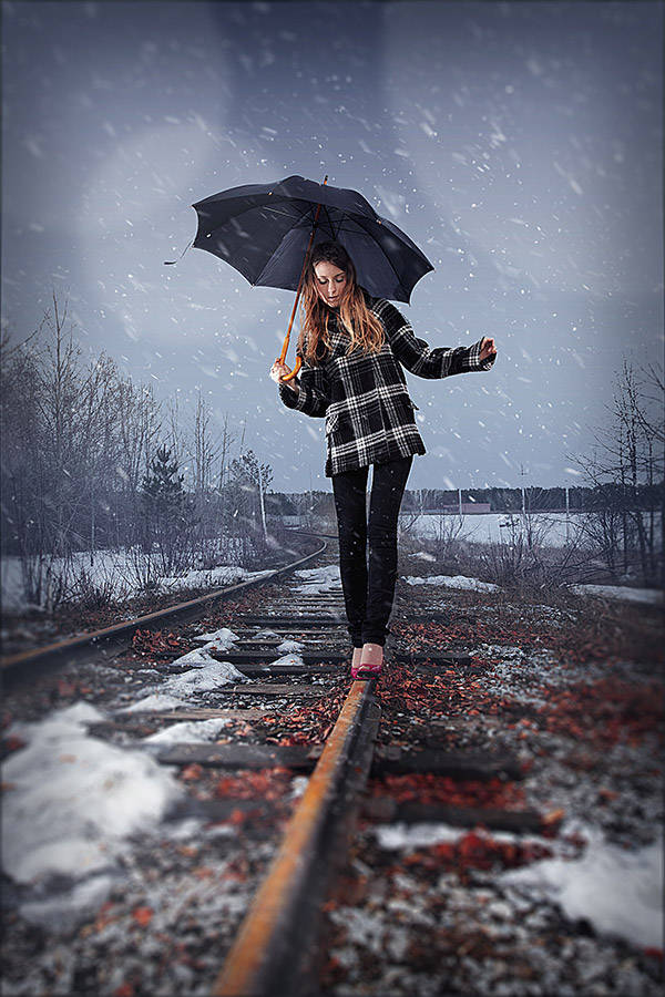 Ajouter de la neige sur une photo