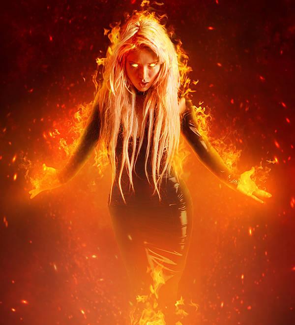 Femme ardente