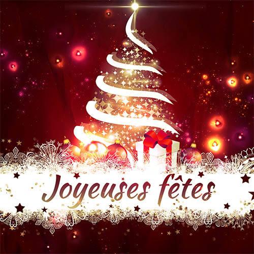 Carte de fêtes de fin d'année