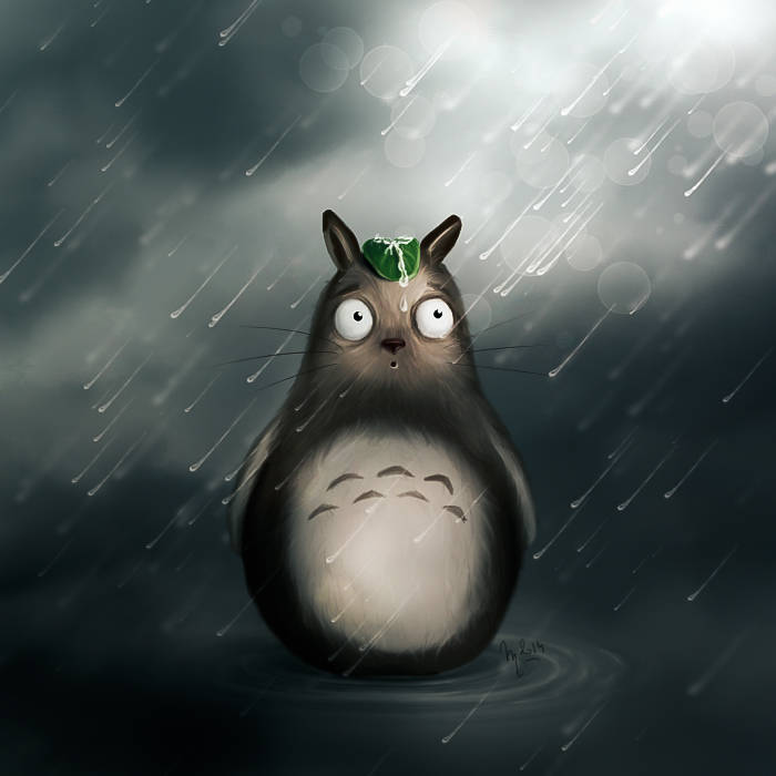 Dessiner Totoro