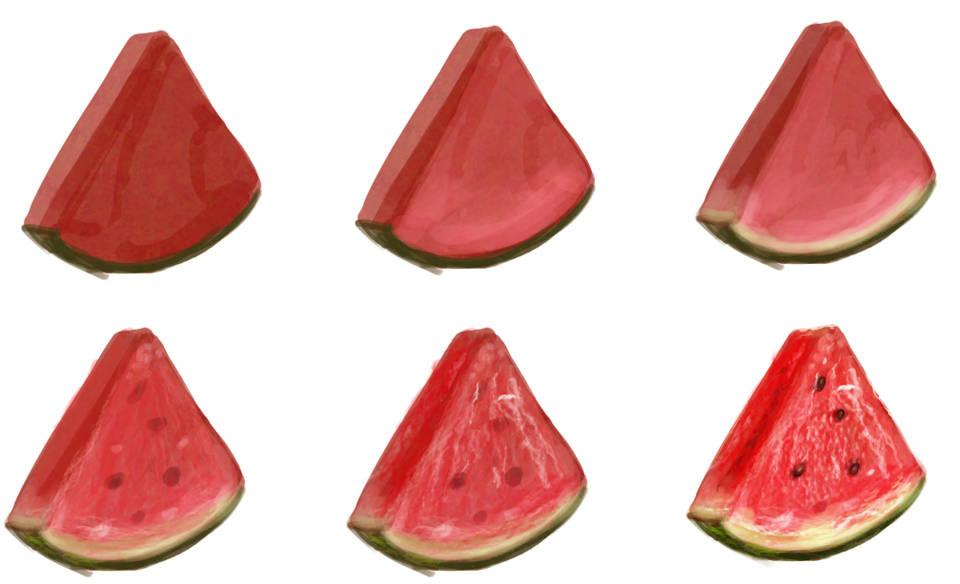 Dessiner une pastèque