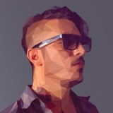 miniature Portrait low-poly avec Photoshop et Illustrator