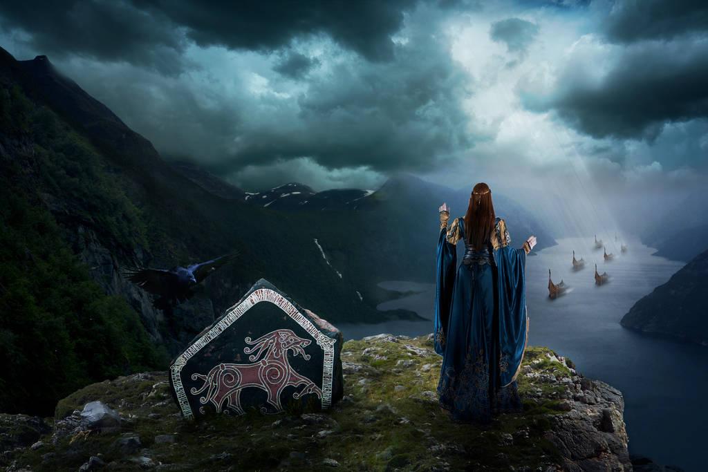 Le départ des Vikings