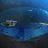 miniature Ville dans l'espace