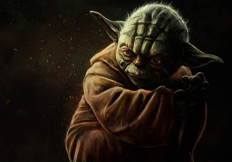 Dessiner Yoda