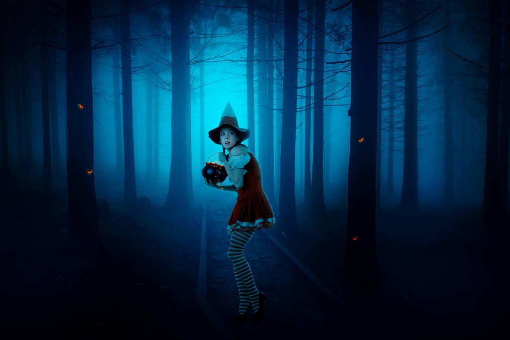 Jeune sorcière