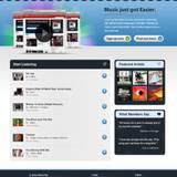miniature Webdesign d'un site de musique