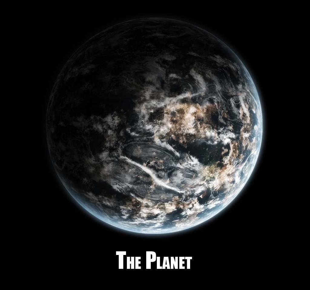Dessiner une planète