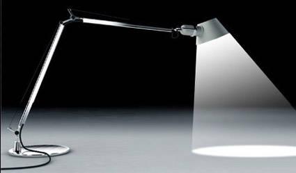 Dessiner une lampe et son faisceau
