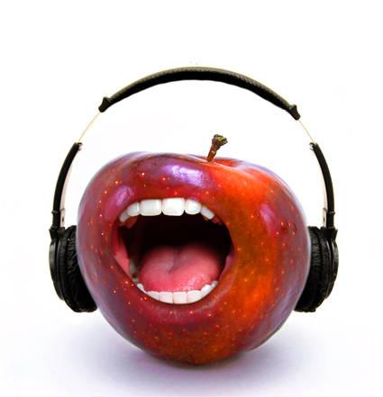Pomme chanteuse