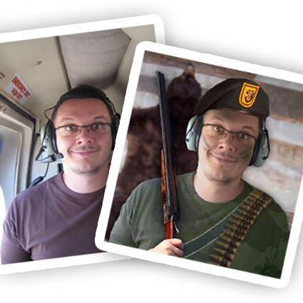 Transformer une photo en soldat