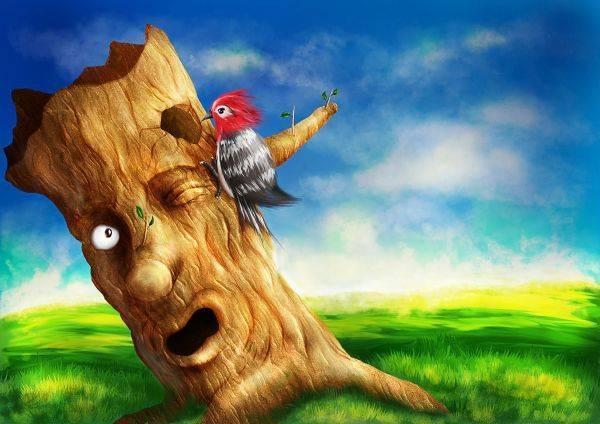 L'arbre et l'oiseau