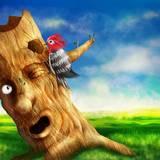 miniature L'arbre et l'oiseau