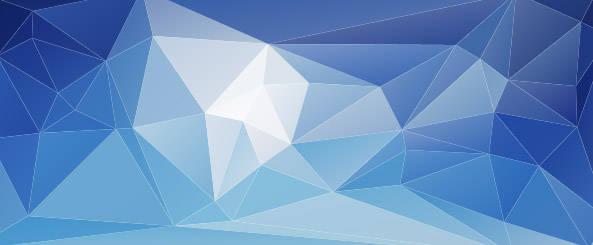 Arrière-plan polygonal