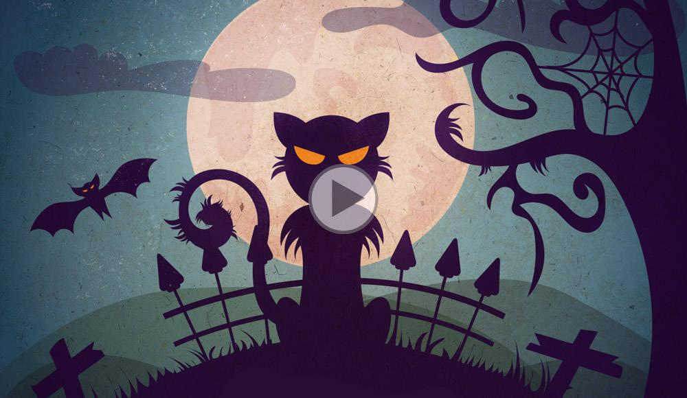 Créer une illustration vectorielle spécial Halloween
