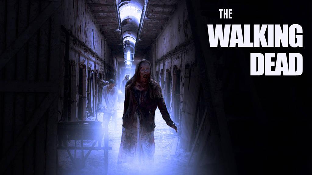 Affiche zombie walking dead